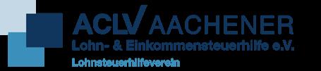 ACLV Aachener Lohn- und Einkommensteuerhilfe e.V. Lohnsteuerhilfeverein |